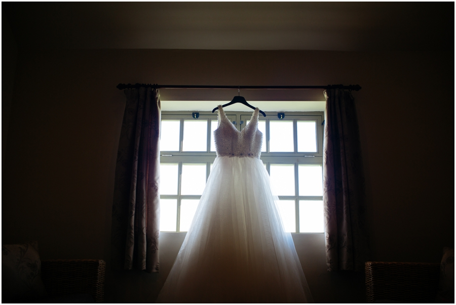 Winter wedding at The Ashes wedding venue