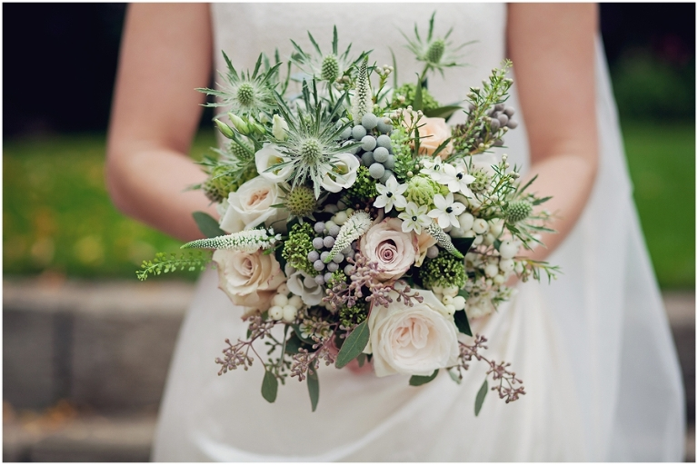 Mrs Umbels bouquet photographed by Kathryn Edwards Photography