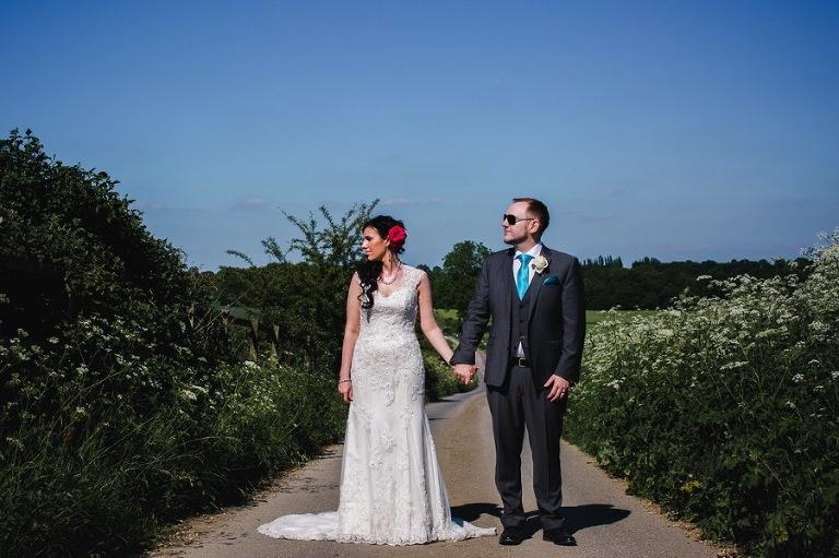 Alice and David - A very sunny Swancar Farm Wedding